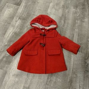 Baby Gap Wool Blend Duffle Coat